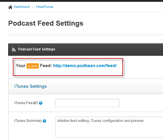 Itunes podcast login