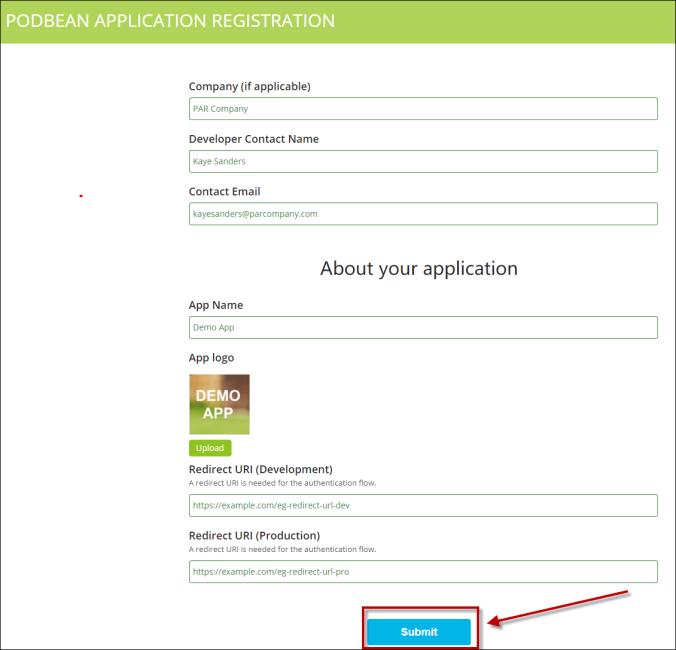 Podbean Apply App