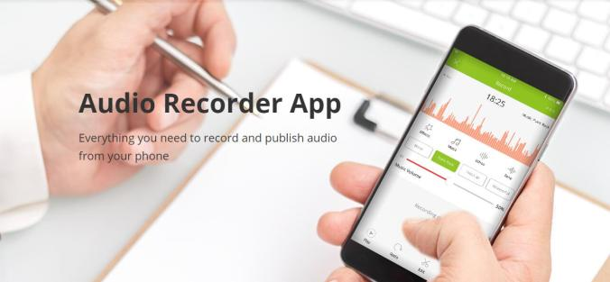 audio recorder app